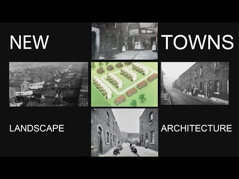 British New Towns Landscape Architecture