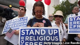 Same-Sex Marriage Opponents Turn to Religious Freedom Bills