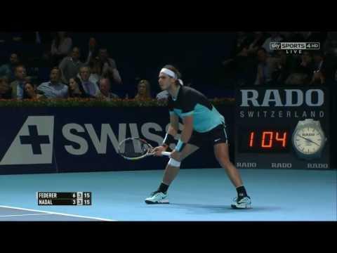 Federer vs Nadal Basel 2015 Final