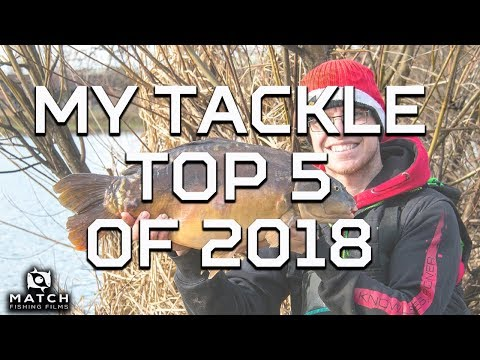 My Fishing Tackle Top 5 For 2018!