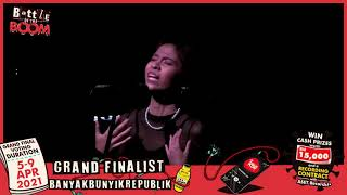 Battle of the Boom FINALIST | BanyakBunyikRepublik!
