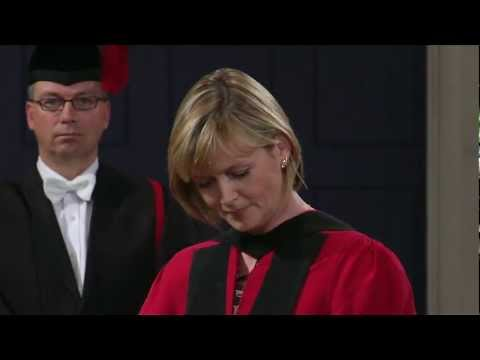 Julie Etchingham - Honorary Degree - University of Leicester