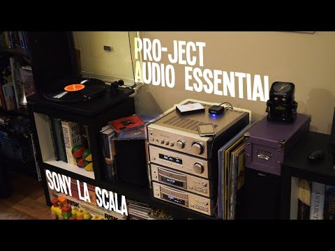 My New (Old) Hifi: Sony La Scala TA-S2 & Project Audio Essential