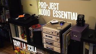 My New (Old) Hifi: Sony La Scala TA-S2 & Project Audio Essential