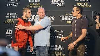 Download Confrontacion (Face-off) de los participantes de UFC 209 Mp3 and Videos