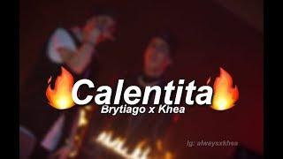 Khea ft. Brytiago - Calentita ( Ardillas traperas) Letra