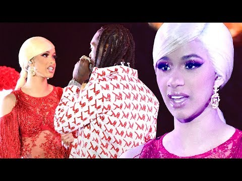 Cardi B REACTS To Offset Crashing Performance