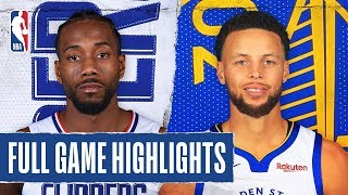 CLIPPERS at WARRIORS | FULL GAME HIGHLIGHTS | October 24, 2019