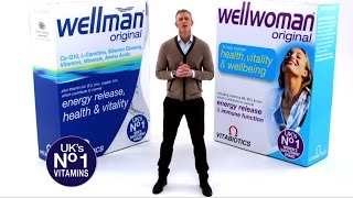 Vitabiotics Wellman i Wellwoman TV Reklama - Mark Foster