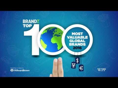 BrandZ Top 100 Most Valuable Global Brands 2016 | Countdown