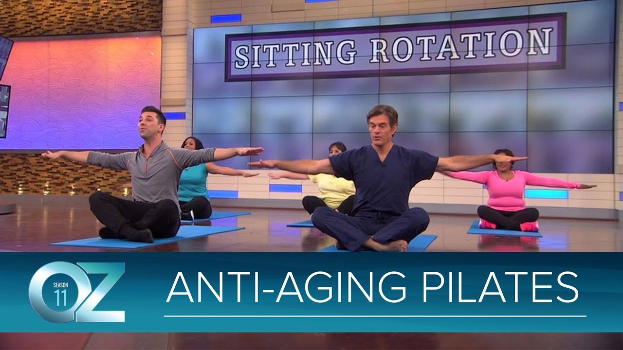 Try at Home: Anti-Aging Pilates Exercises