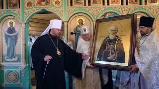 Слово митрополита Ферапонта после освящения храма во имя  прп Сергия Радонежского п.Волжский