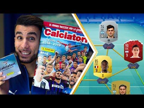 HO TROVATO DYBALA e PUSSETTO! | APERTURA BUSTINE ALBUM CALCIATORI PANINI 2018 2019 su FIFA 19 EP.1