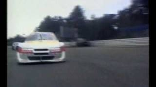 OnBoard with Ellen Lohr chased by JJ Lehto at Hockenheim ITC 1996