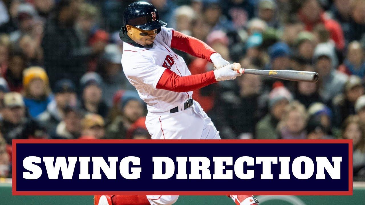 Mookie Betts Swing Direction: Baseball ...