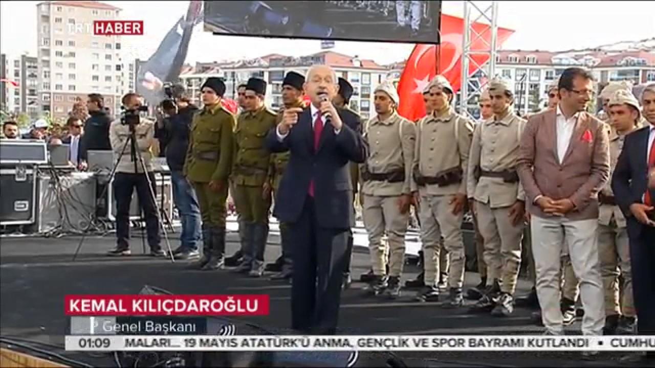 Beylikdüzü'nde 19 Mayıs Kutlamaları ve Yaşam Vadisi Açılışı Fox Tv ve HaberTürk TV'de