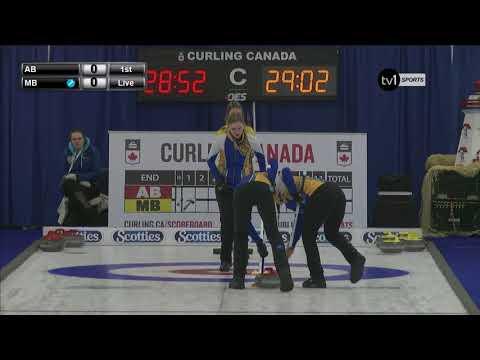 2018 U-18 Championships - Alberta vs. Manitoba