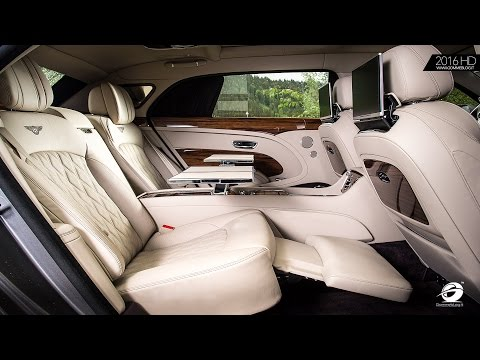 Bentley Mulsanne EWB | HIGHLIGHTS ..  Rear Passenger Comfort Redefined