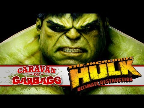 The Incredible Hulk Ultimate Destruction (PS2) - Caravan Of Garbage
