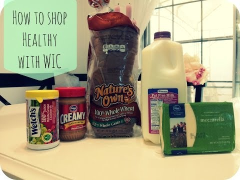 How to shop Healthy with WIC