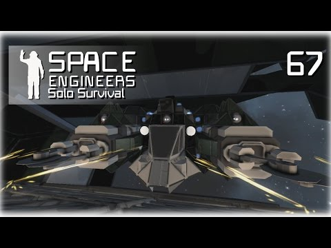 Space Engineers • Solo Survival • 67 • Thruster Cluster