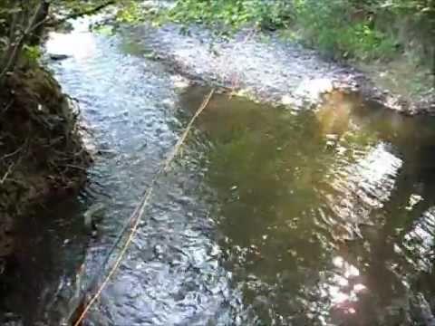 peche truite nymphe au fil