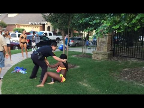 Texas Cop Resigns After Pool Party …