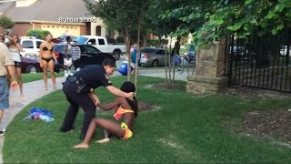 Texas Cop Resigns After Pool Party Confrontation Video Goes Viral  from
