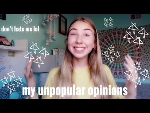 my unpopular opinions | savannah ryan thumbnail