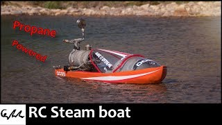 Making RC steam boat