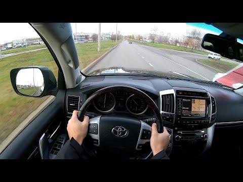 2014 Toyota Land Cruiser 200 4.5D (235) POV TEST DRIVE