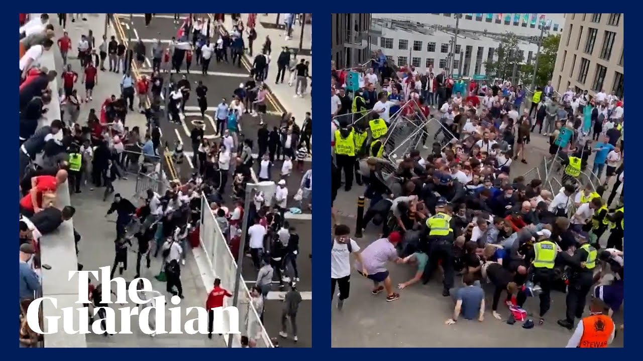 Euro 2020 final: 'Security breach' at Wembley Stadium as small ...