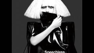 Lady Gaga - Speechless [Official instrumental]