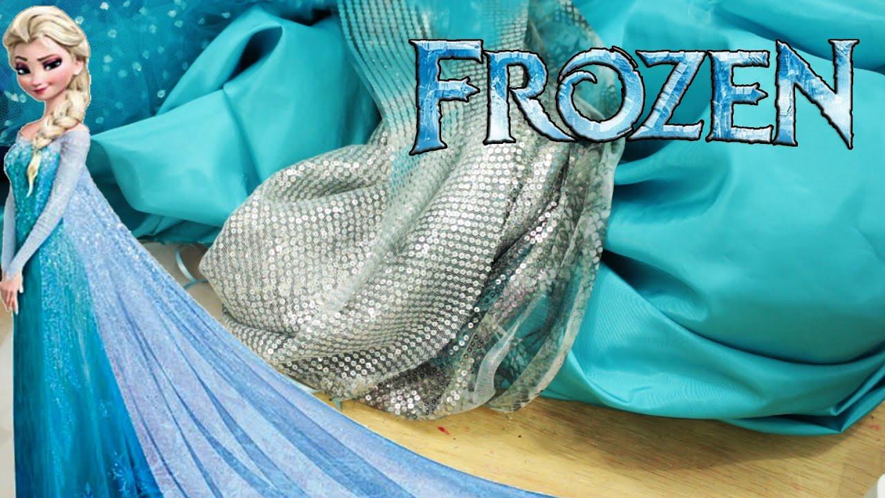 Vestido Elsa Frozen Escolhendo Tecidos Para O Vestido Dress Elsa Frozen Veda 27