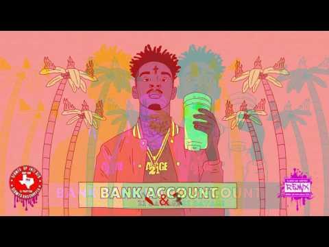 21 Savage - Bank Account (Official Chopped Visual) 🔪&🔩