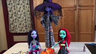 HALLOWEEN CHALLENGE 28 inch Monster High Unboxing