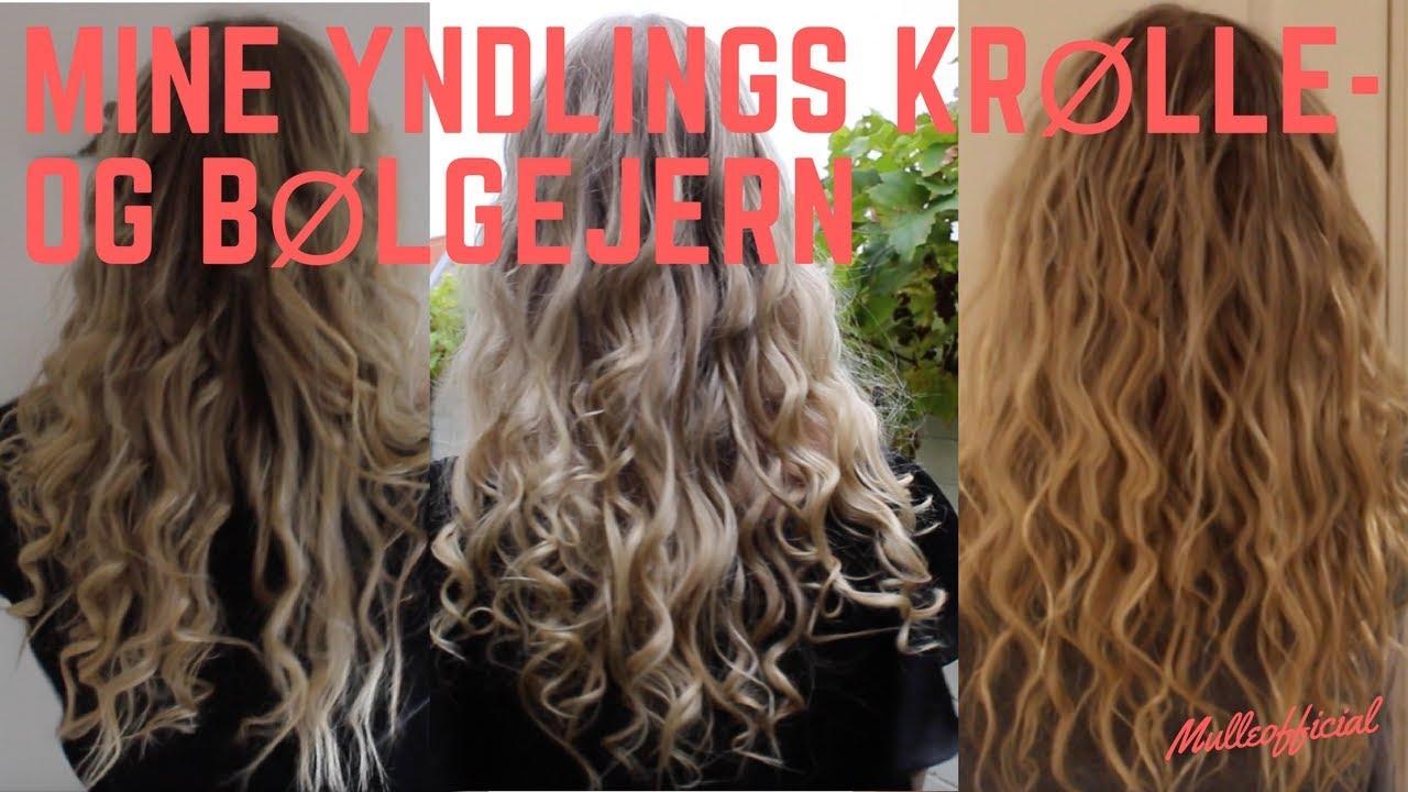 bølgejern hår