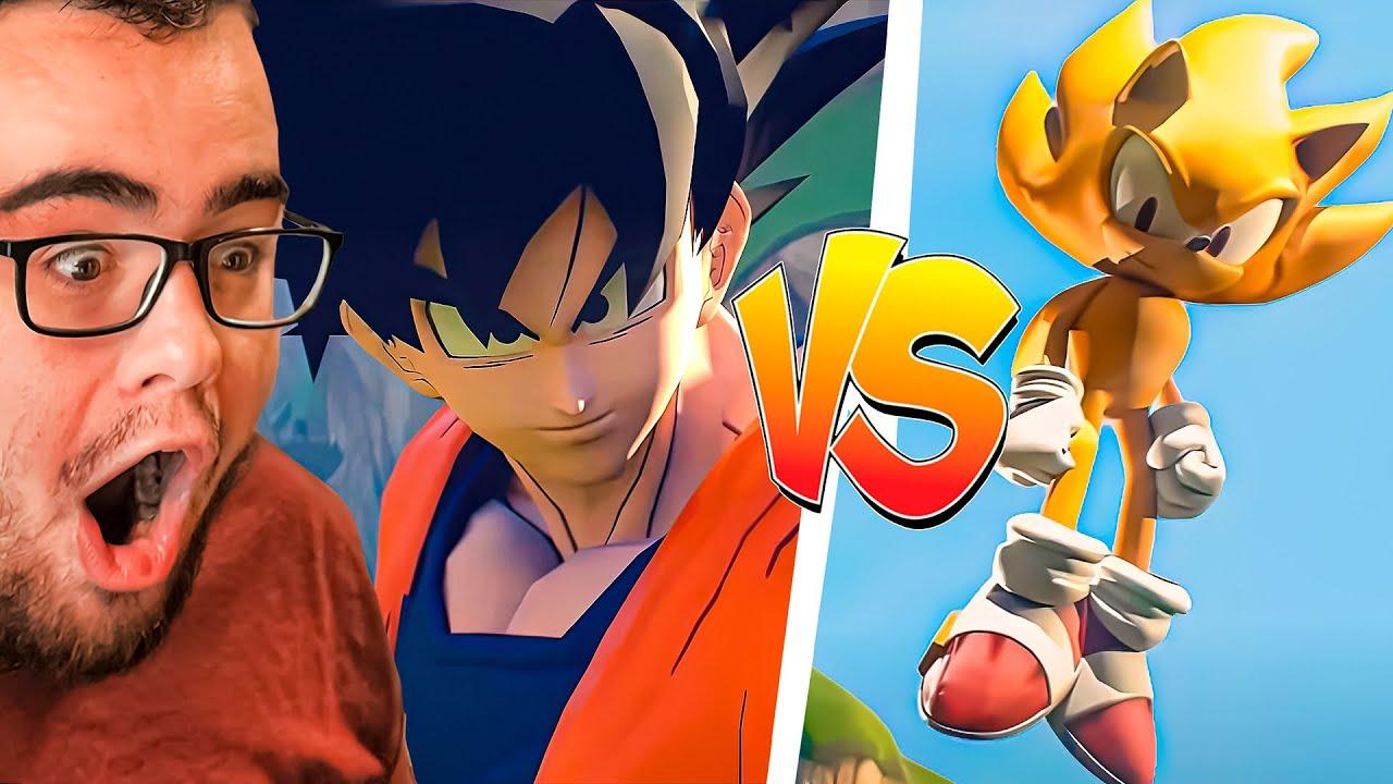 GOKU vs SUPER SONIC the FIGHT!
