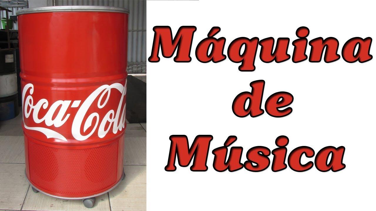MÁQUINA DE MÚSICA COCA COLA COM PC VELHO