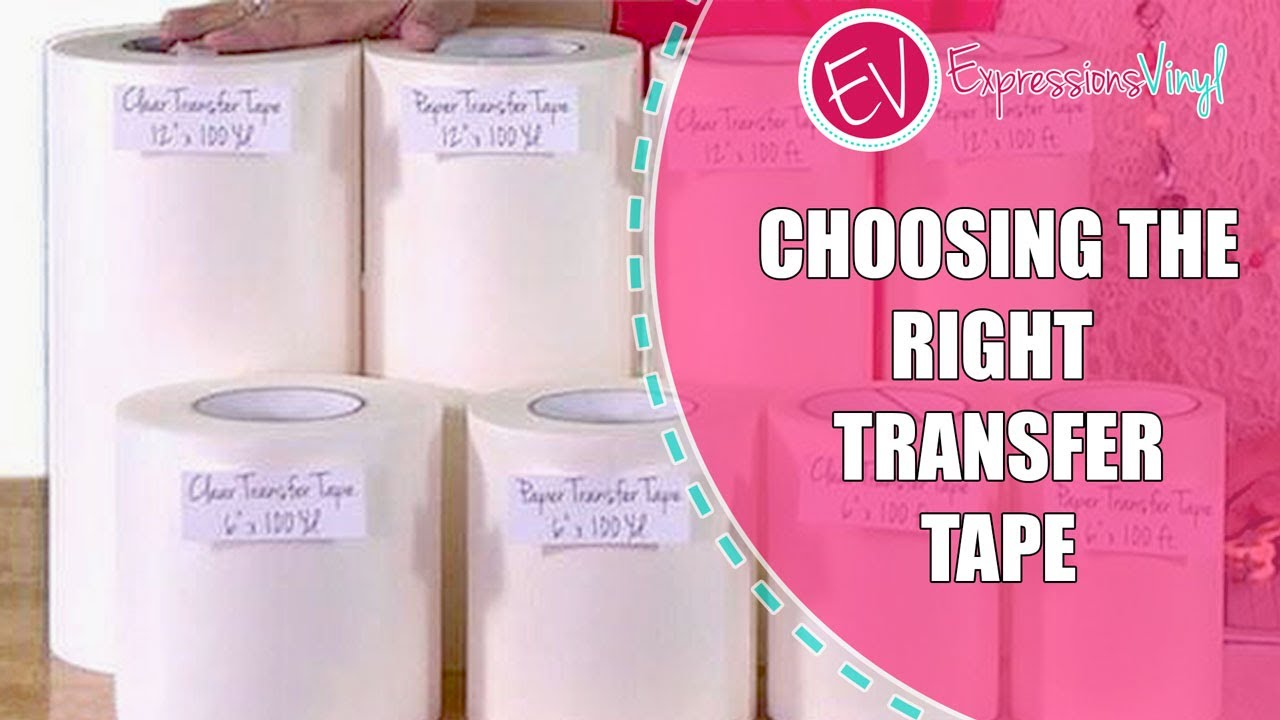 choosing the right transfer tape youtube. Black Bedroom Furniture Sets. Home Design Ideas