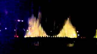 Musical Fountain , Jawahar circle, Jaipur, India.
