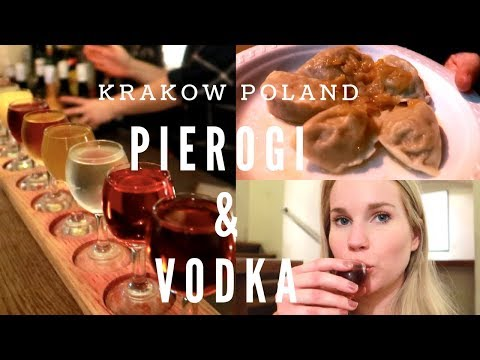 American Girl Tries Polish Food in Krakow Poland!