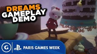 Dreams Stage Demo - Paris Games Week 2015 Sony Press Conference