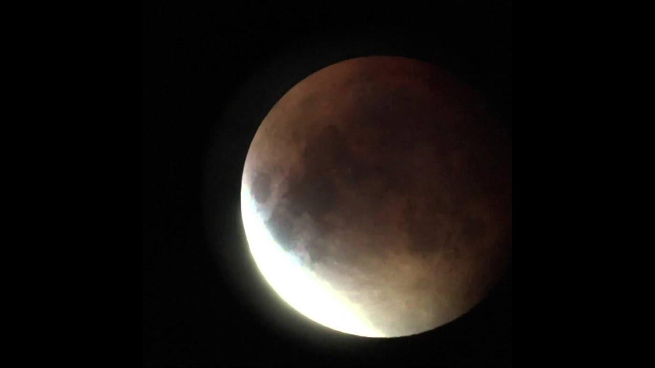 Lunar Eclipse September 2015 Time Lapse