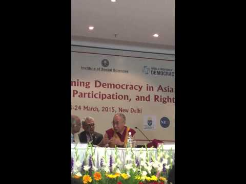 Strengthening Democracy in Asia: Shamama Arbab engaging H H