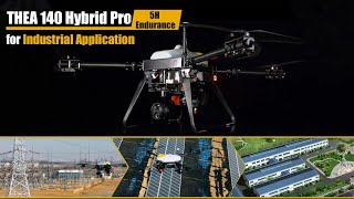 New Industrial Hybrid Quadcopter With Extra-long Duration up to 5hrs