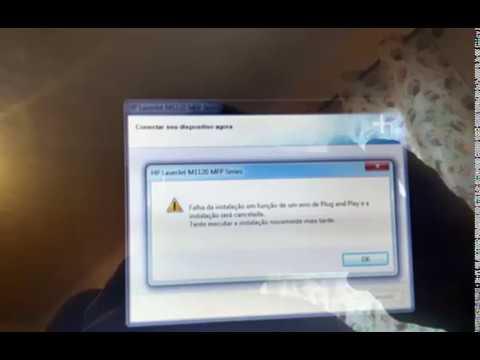 Erro Na Impressora Da HP LaserJet M1120 MFP Series - Windows