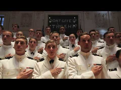 USNA Glee Clubs Navy Blue and Gold