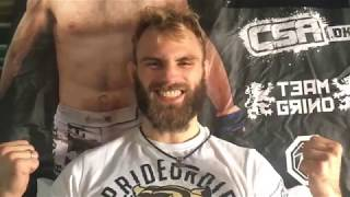 Soren Bak Pre-Fight Cage Warriors 88