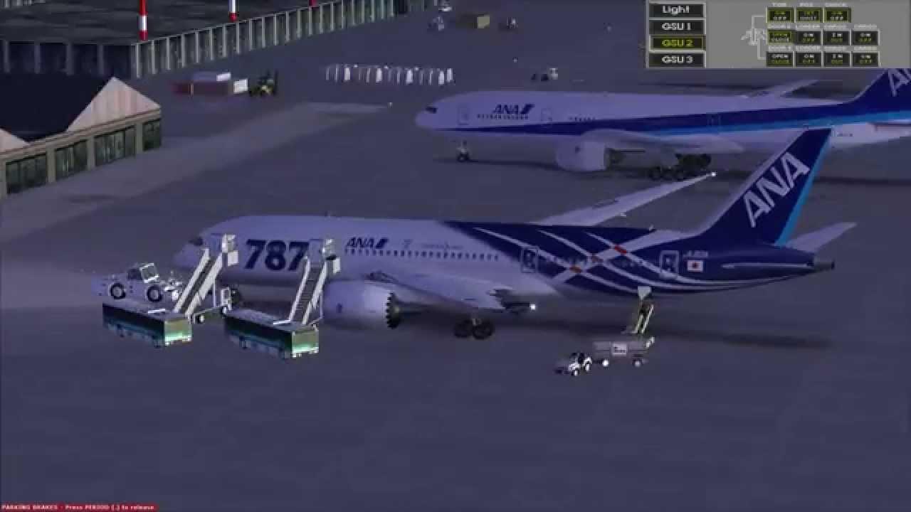[FSX]TDS Boeing 787-8 + Aerosim 787 VC Merge 1